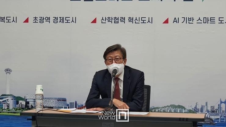 박형준 부산시장, 언론과의 만남 통해 시정 포부 밝혀